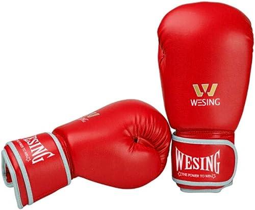 CHUJIAN Gants de Boxe, Gants Sanda pour Femmes, Concours d'entraîneHommest aux Arts Martiaux, Gants pour Sacs de Sable pour Les Amateurs de Boxe