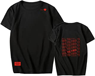 BTS Kpop Speak Yourself Printed T-shirt Cotton Basic Tee Unisex Sports Tops