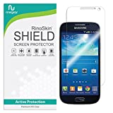 RinoGear Screen Protector for Samsung Galaxy S4 Mini Case Friendly Samsung Galaxy S4 Mini Screen Protector Accessory Full Coverage Clear Film