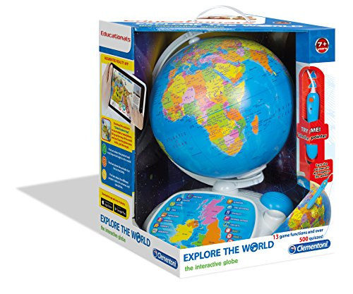 Interactive Talking Globe | Learn About Continents, Countries, Capital Cities and More