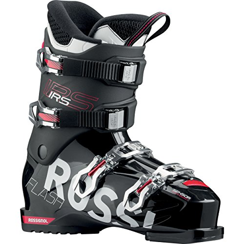 Rossignol – Skischuhe Flash Irs Rental – Schwarz – Herren – Größe 48 – Schwarz, Schwarz , 41 EU