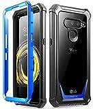 Poetic Guardian Series für LG V50 ThinQ, blau