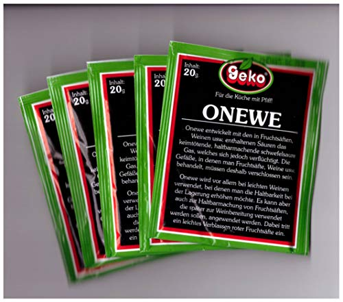 ONEWE - Konservierungsmittel im Pack mit 5 Beuteln a´20g
