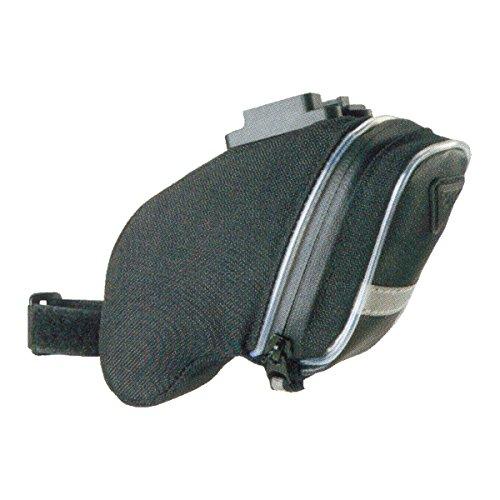 Topeak Satteltasche Mit Fixer F25 AeroWedge iGlow, Black, 15x5.5x15 cm