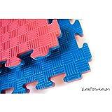 YariNoHanzo Tatami Bicolore   10 m2   Tatami ad Incastro   Puzzle Spessore: 2 cm   Karate, Judo, Taekwondo, Kick Boxing, MMA, Brazilian Jiu Jitsu   New Version