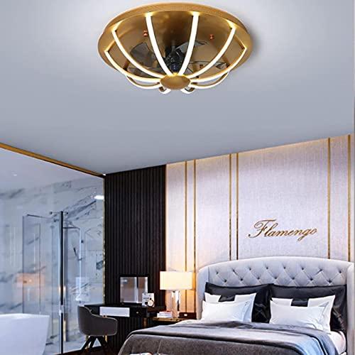 Luz moderna del ventilador de 36 pulgadas con el control remoto y la luz de ventilador de techo de 3 colores ajustable de 3 colores, luz de techo para comedor dormitorio sala de estar