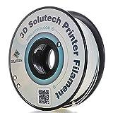 3d Solutech véritable Blanc imprimante 3d PLA Filament 1.75mm Filament, précision Dimensionnelle +/-0,03mm, 1kilogram (1.0kg)–100% USA