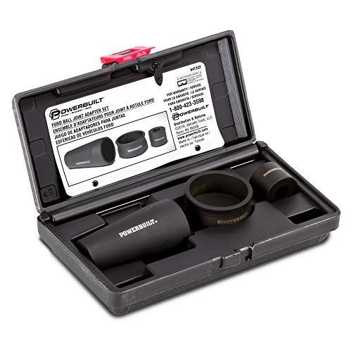 Powerbuilt 641322 Ball Joint Adapter Kit for Ford, Black