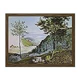 Doppelganger33 LTD Painting Landscape Rural Fohr Heidelberg