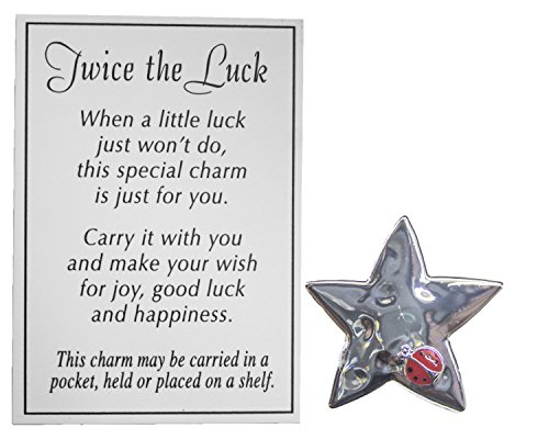 Twice The Luck Good Luck Pocket Charm (Star)