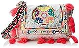 LOLA CASADEMUNT Yuba, Bolso de mano para Mujer, Rosa (Unico), 8x22x29 cm (W x H x L)