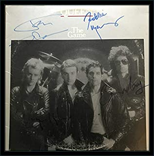 Framed Queen LP Authentic Autograph with Certificate of Authenticity