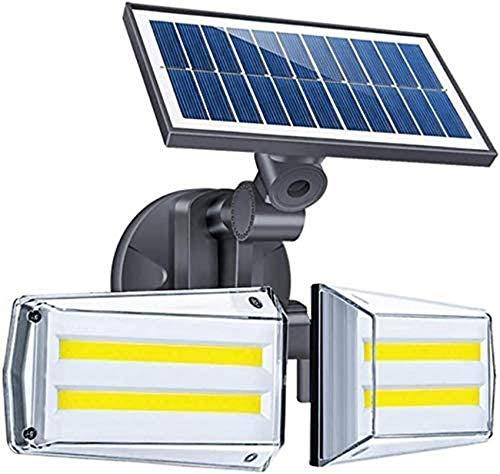 YZ-YUAN Lampada da Parete per Esterni, Hyundai Solar Lights Forno a microonde Rotante 20W LED 80 COB Illuminazione Lampione Stradale per Illuminazione da Giardino Lampada da Parete per Esterni IP65