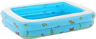 HEROTIGH Piscinas Hinchables Gran Familia De Piscina De Segundo Anillo Rectangular 150X110X43Cm Inflatable Pool