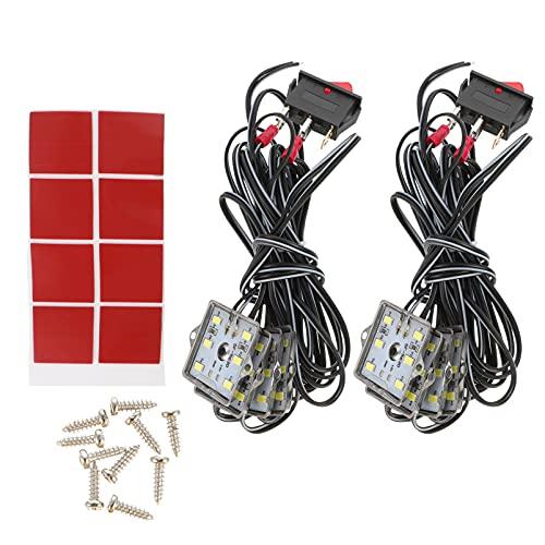 FAVOMOTO Kit de Luces LED para Camionetas Kit de Iluminación para Camionetas de Carga Kit de Iluminación Resistente Agua para Camionetas Bajo Riel