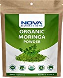 Best Organic Moringa Powders - Nova Nutritions Certified Organic Moringa Oleifera Leaf Powder Review