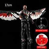 SSRS Iron Spiderman Black Panther Falcon Avengers 4 Unlimited War Doll Titan Hero Figuras Avengers L...