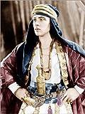 Poster 30 x 40 cm: Rudolph Valentino - Der Scheich von Everett Collection - hochwertiger Kunstdruck, neues Kunstposter -