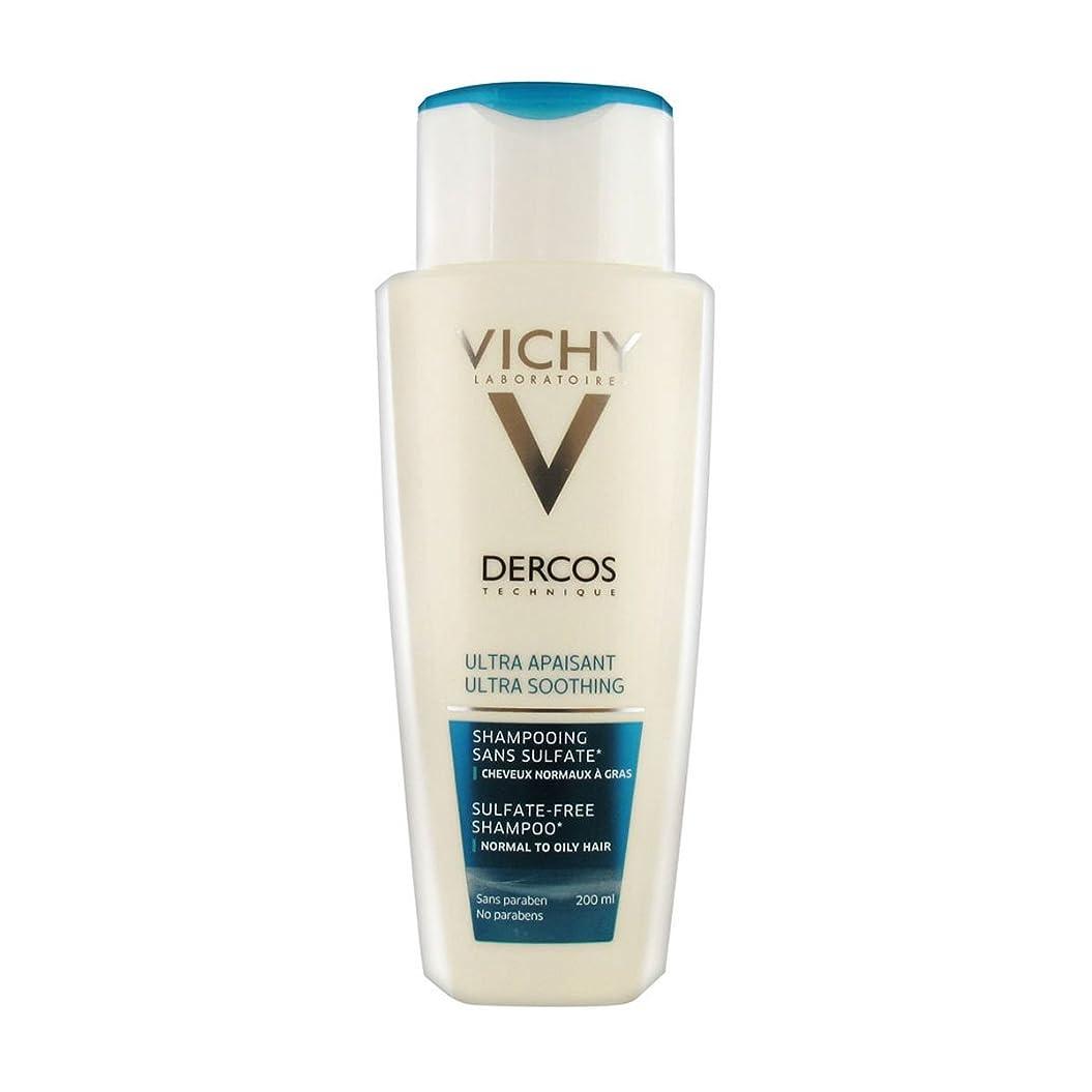 おなじみの期待して置き場Dercos Ultra Soothing Shampoo Normal To Oily Hair 200ml [並行輸入品]