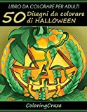 Libro da Colorare per Adulti: 50 Disegni da colorare di Halloween, Serie di Libri da Colorare per Adulti da ColoringCraze: Volume 1