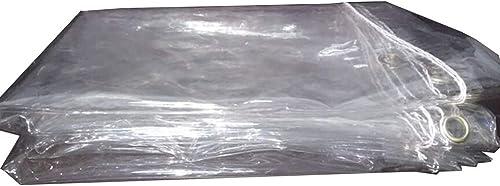 Qing MEI Abri De Prougeection Solaire Imperméable Transparent épais du Film De Tissu De Pluie Succulente en Plastique Souple De PVC Vent A+ (Taille   2.3×3m)
