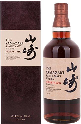 The Yamazaki Suntory Single Malt Whisky Sherry Cask mit Geschenkverpackung 2016 (1 x 0.7 l)
