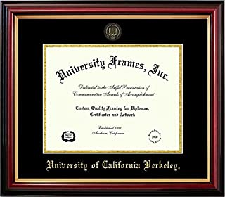 Campus Images NCAA California Golden Bears Berkeley Gold Embossed Diploma Frame Multicolor One Size