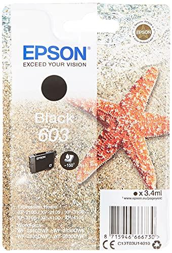 Epson Singlepack Black 603 Ink