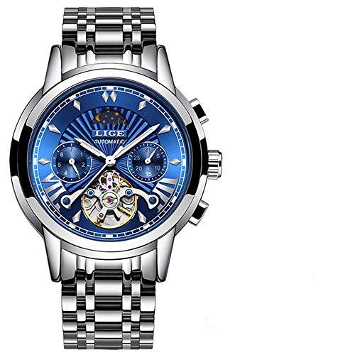 Tienda Oficial Relojes para Hombre Relojes de Marca de Lujo Reloj mecánico automático de Negocios Reloj Dorado Reloj para Hombres Reloj mecánico de Hombres