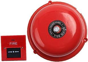 """Brand Alarm Bell 6 """"Interne Strike Type Elektrische Noodsituatie Evacuatie Bell Set Alarm Bell"""