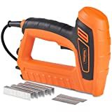 VonHaus 5A Electric Staple Gun & Nailer – Includes Staples & Nails Suitable For Fabrics, Upholstery & Cardboard