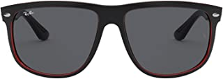 Ray-Ban Men's 0RB4147 60414060 Highstreet Boyfriend Sunglasses