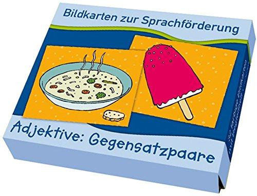 Adjektive: Gegensatzpaare (Bildkarten zur Sprachförderung)