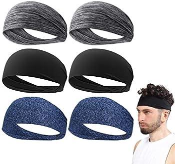 6-Pack 9aboy Unisex Sports Headband