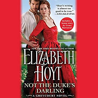 Not the Duke's Darling audiobook cover art