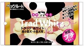 トラッドホワイトガム 骨型プチ 4本入×6袋
