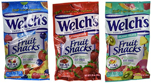Welch's Fruit Snacks, 2.25 Ounce Pouches, 24 Count, Variety Pack