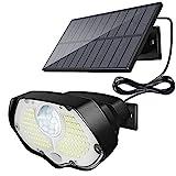 Luz solar exterior,Kolpop focos led exterior solares 106LED luz solar exterior con sensor de...