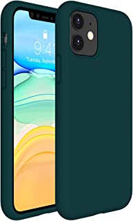 Miracase Liquid Silicone Case Compatible with iPhone 11 6.1 inch(2019), Gel Rubber Full Body Protection Shockproof Cover C...