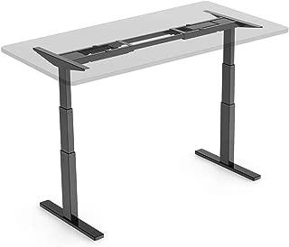 FlexiSpot 電動式スタンディングデスク 高さ調節スタンドアップワークテーブル 作業台ブラックE3B