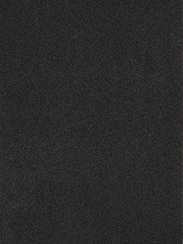 havatex Velours Teppich Burbon - 13 Farben modern & klassisch | Top Preis-Leistung | TÜV-geprüft & schadstoffgeprüft | Wohnzimmer Schlafzimmer, Farbe:Schwarz, Größe:120 x 170 cm