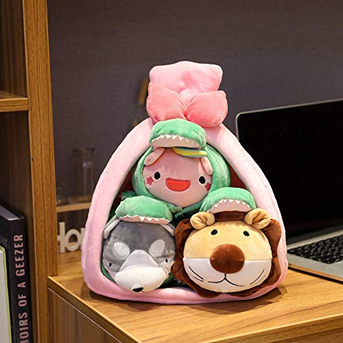 35 Cm Nest Plush Toy Muñeca de Dibujos Animados rellena León Husky...