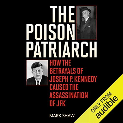 The Poison Patriarch audiobook cover art
