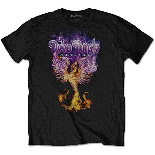 T-Shirt # L Black Unisex # Phoenix Rising [Import]