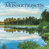Massachusetts Wild & Scenic 2020 12 x 12 Inch Monthly Square Wall Calendar, USA United States of America Northeast State Nature (English, French and Spanish Edition)