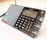 TECSUN PL-880 ブラック FM/MW/SW/LW/PLL BCL 短波ラジオ 日本語版説明書付属