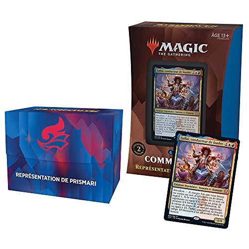 Deck Commander Magic: TheGathering Strixhaven–Représentation de Prismari (Bleu-Rouge)