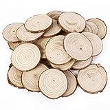 25個入 DIYパーツ 木製 天然木 切り株 コースター シンプル ナチュラル