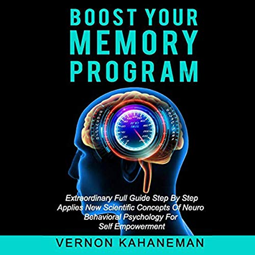 Boost Your Memory Program audiobook cover art