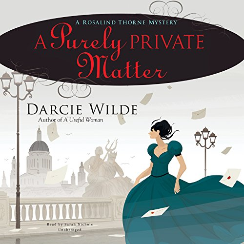 A Purely Private Matter audiobook cover art
